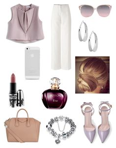 """Untitled #140"" by luckylover0801 ❤ liked on Polyvore featuring Chicwish, Givenchy, Robert Lee Morris and MAC Cosmetics"