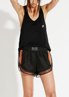 Athleisure & Sports Luxe Wear by Pip Edwards | P.E Nation www.uksportsoutdo... Clothing, Shoes & Jewelry : Women : Clothing : Active : gym http://amzn.to/2lL2x3Ehttps://pe-nation.com/product/breakaway-shorts/