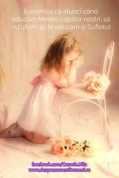 E esențial ca atunci când educăm Mintea copiilor noștri să nu uităm să le educăm și Sufletul.  http://ift.tt/2fkQ4By  Seară frumoasă prieteni oriunde v-ați afla!  http://ift.tt/2dUqotH
