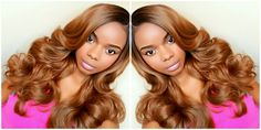 #Yasss Wig! Outre L-Part Swiss Lace Front Wig - EMMY