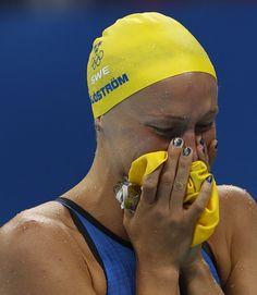 Pin for Later: Die Olympioniken haben die Nägel schön Sarah Sjöström, Schwimmen, Schweden