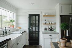 custom paint grade kitchen cabinetry