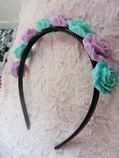 Cute Kawaii Pastel Goth Fairy Kei Rose by BowsAndBonesOfficial