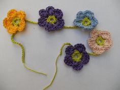 Slinger met 5 bloemen