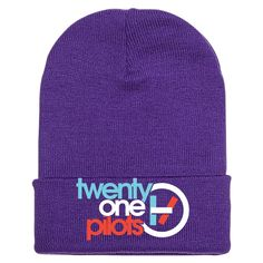 Twenty One Pilots Embroidered Knit Cap