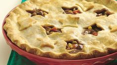 It's a classic! And prepared in just 10 minutes, thanks to deli roast beef, frozen veggies and a refrigerated crust.