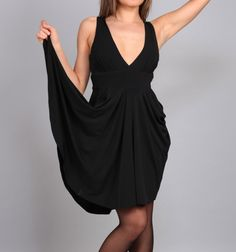 50% discount Little black dress by CrEationsDeMode on Etsy