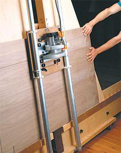 Panel Saw Woodworking Plan