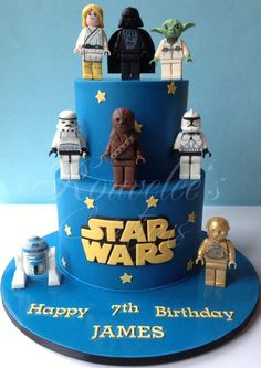 7 Tartas de cumpleaños Star Wars