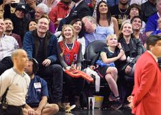 Pin for Later: Cool Dad Conan O'Brien Sits Courtside With His Kids at the Clippers Game