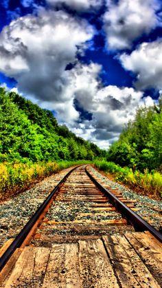 Purple wood train tracks source Flickr.com Hd Background Download, Background Images Hd, Ferrat, Train Tracks, Hd Backgrounds, Beautiful Landscapes, Railroad Tracks, Kamal Singh, Hindus