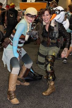 Pin for Later: 60 Costume Ideas For Couples Who Love to Geek Out Together Frozen + Mad Max
