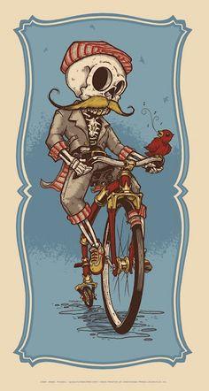 Die riding...