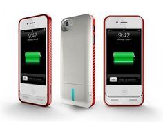 iBattz Mojo Refuel iPhone 5 Case with Removable Backup Battery