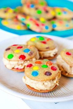 Cream Filled Coookies With M's