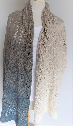 148ccf9712f6e3 Knitting sample for the stole Elfentanz. The stole is a design by Mic's  Mesh & Co by Beate for my crafting paradise. The stole is about broad and  lengthy ...