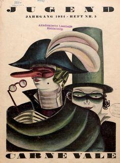 Poeppel. Jugend, 29 Februar 1924.