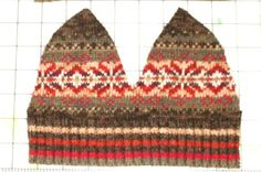 THIS Is the pattern I'm going to use to up-cycle an old sweater into a hat.  I think I'll be looking to buy some new sweaters! (resale that is!!)