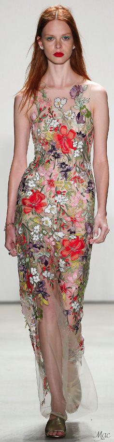 Spring 2016 Ready-to-Wear Jenny Packham