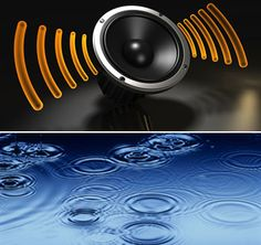 Sound Waves & Water Waves @ http://www.wonderwhizkids.com/physics/waves-and-optics/sound-waves