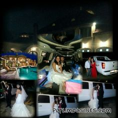 .....Congratulations to the Bride and Groom from Premier Limousines on your union Saturday evening the Bella Mansion in Stokesdale NC, thank you for allowing  us to be a part of this beautiful event on Sat Oct. 4th 2014 Greensboro NC .... We'll come to you no matter how far, get 50% off, half price when you book MONDAY - THURSDAY... and we'll keep you in budget.****  Visit our web page at pltlimousines.com. We are a national Limousine company that strives to exceed your expectations, we…