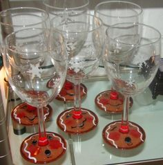 Ginger Wine Glasses