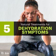 Dehydration symptoms - Dr. Axe http://www.DrAxe.com #health #holistic #natural
