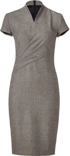 Lauren Ralph Lauren Glen Plaid Wool Dress