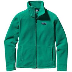 Patagonia Womens Micro D Jacket. Emerald
