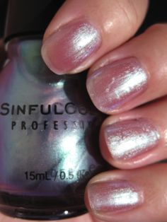 Sinful Colors nail polish- #615 Let Me Go