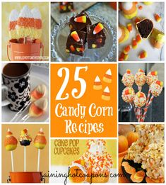 25 Candy Corn Recipes for Halloween!