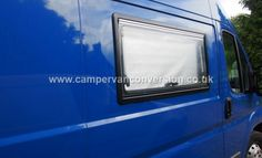 Finishing Off A Campervan Window Installation