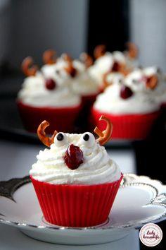 Cupcakes, Desserts, Christmas, Diy, Food, Tailgate Desserts, Xmas, Cupcake Cakes, Deserts