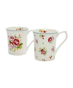 floral mugs, Cath Kidston