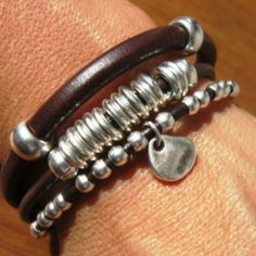 Bracelets designs by kekugi,  leather Bracelets,  fashion jewelry, personalized bracelets