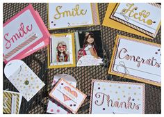 Craftastic Days with Stacy: A Week of Seriously Amazing - August 2014 Paper Pumpkin kit from Stampin' Up! featuring gift cards, cards, envelopes, mini books, and a Project Life page through the week!