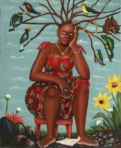 Femme surchargée (2005) by Pierre Bodo - Pigozzi Collection 2013 - Contemporary African Art Collection