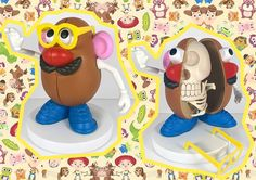 TOYS' BONES, JASON FREENY'S SCULPTURES - #miniopony #toys #bones #jasonfreeny #mrpotato #mario #barbie