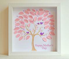Ejemplos de diseños de tarjetas para el día de las madres