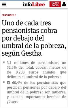 Pensionistas españoles