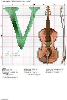 Alfabeto degli strumenti musicali: V