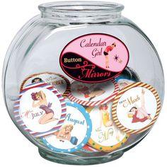 Calendar Girl Purse Mirror - Time Your Gift - 1