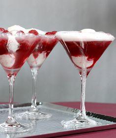 Cherry Jubilee over Vanilla Bean Ice Cream :)