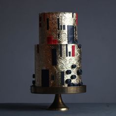 Торт Климт №1808 на заказ в Москве