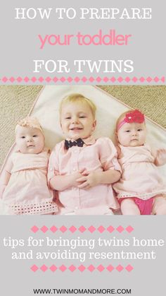 Expecting twins when you have a toddler at home can be daunting but it is possible to cultivate and wonderful sibling relationship. Twin Mom, Twin Babies, Parenting Advice, Kids And Parenting, Twins Schedule, Newborn Twins, Baby Twins, Baby Girls, Sibling Relationships