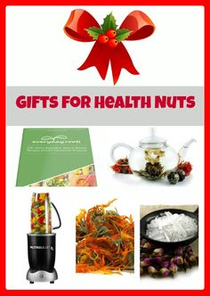 10 Gifts for Health Nuts   Natural Health Ideas #HealthyEating #Food #HealthFood