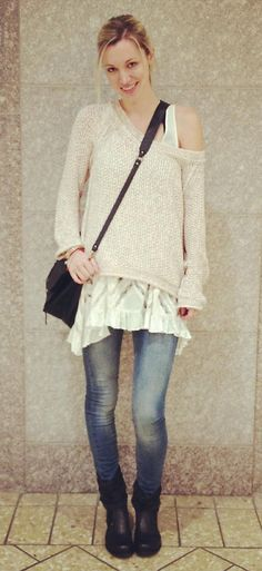 Marled Yarn Pullover style pic by fplyndz on Free People