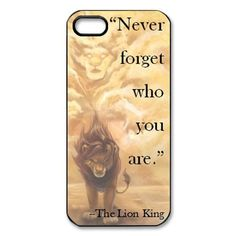 The Lion King Hard Plastic Back Cover Case for iphone 5: Cell Phones & Accessories