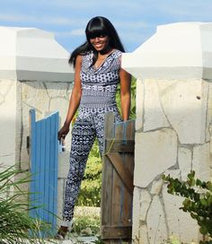 AT THE VILLA IN MATCHING PRINTS | The Fashion Stir Fry