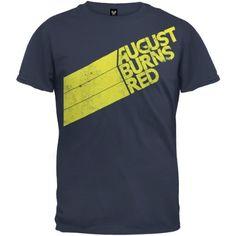 TOPSELLER! August Burns Red - Stripes T-Shirt $14.80